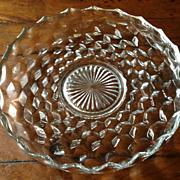 """Vintage Fostoria American 12"""" Tray"""