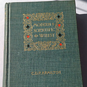 REDUCED 1894 Modern Scientific Whist By C. D. F. Hamilton