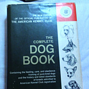 REDUCED 1964 The Complete Dog Book By The American Kennel Club