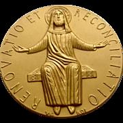 Pope Paul VI 1975 Holy Year Jubilee Medal