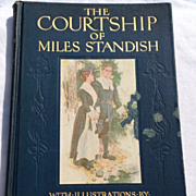 REDUCED 1903 The Courtship Of Miles Standish By Henry Wadsworth Longfellow