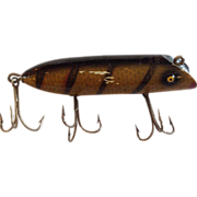 """Vintage Wooden 3 3/4"""" South Bend Fishing Lure"""