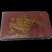 Victorian Autograph Book Circa 1880'S
