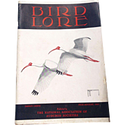 July-August 1957 Bird Lore Magazine Published By The National Association Of Audubon  Societie