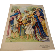 Cicely Barker Lithograph Nursery Picture #7 Southern Baptist Convention