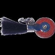 Vintage Sterling Silver Eraser Charm