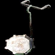 Vintage Hanging Metal Flower Pot Holder