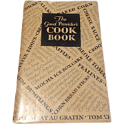 The Good Providers Cookbook