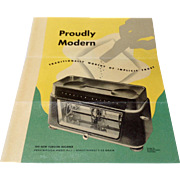Vintage Torsion Balance Pharmacist Scale Brochure