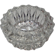 Vintage Pressed Glass Salt Cellar