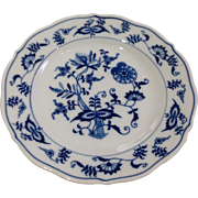 Vintage Blue Danube Or Blue Onion Salad Plate