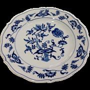 Vintage Blue Danube Blue Onion Salad Plate