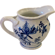 Vintage Blue Danube Blue Onion Creamer