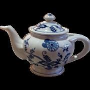 Vintage Blue Danube Blue Onion Tea Pot
