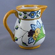 Vintage Pottery Pitcher, Made In Spain