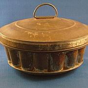 Vintage G.M.T. Co. Tin Ring Ice Cream Mold