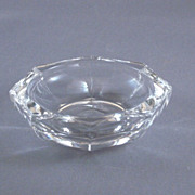 Vintage Small Clear Glass Octagonal Dish