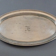 Gorham Sterling Silver Small Oval Tray