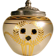 Antique Cooky Jar Confit Jar ca. 1900