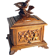 19th Century Humidor Cigar Cave Black Forest
