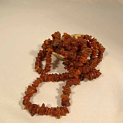 SALE Natural Baltic Amber Necklace 56 Inches Long