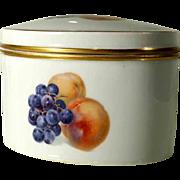 Cookie Jar German Porcelain Rosenthal Thomas