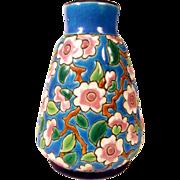 Lovely Pottery Vase Longwy about 1920/30