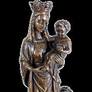 Madonna with Child Virgin Serpent ca. 1930