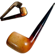 Old Meerschaum Pipe Original Case