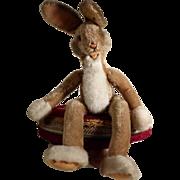 "SOLD Large Steiff Rabbit ""Lulac"" # 3414/"