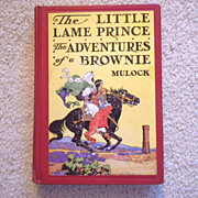 "Vintage Hardbound Book - ""The Little Lame Prince & The Adventures of a Brownie"""