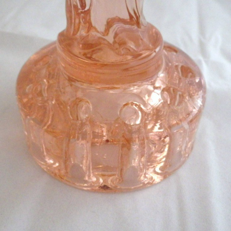 Vintage Cambridge Glass Rose Lady Flower Frog Amp Console