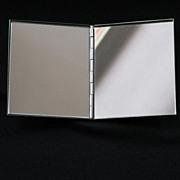 Vintage Reed & Barton Cased Double Mirror with Original Box