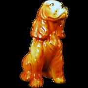 Vintage Ceramic Cocker Spaniel Dog Figurine