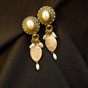 Vintage Signed SORRELLI Chandelier Earrings