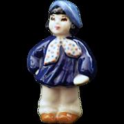 Vintage Signed Little French Boy or Artist Figurine by Ceramic Arts Studio