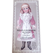 "Vintage ""Mein Liegling (My Darling)"" Limited Edition Paper Dolls"