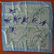 Vintage VERA Handpainted Silk Scarf