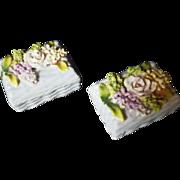 Vintage Signed Elfinware Porcelain Boxes