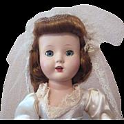 Vintage Roberta Doll Company Hard Plastic Bride Doll