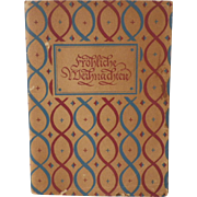"""SOLD SPECIAL HOLIDAY PRICE - Vintage Book - """"Frohliche Weihnachten"""" Christmas in Ger"""