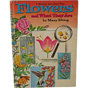 """Vintage Book - """"Flowers and What They Are"""""""