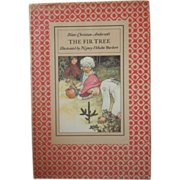 "SPECIAL HOLIDAY PRICE - Vintage Hardbound Book - ""The Fir Tree"""