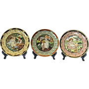 "3 ""Once Upon A Rhyme"" Heinrich/Villeroy & Boch Collector Plates"
