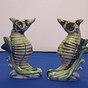 SOLD Vintage Realistic Looking Seahorse Salt and Pepper Shakers