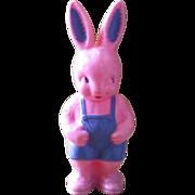 1950's Hard Plastic Irwin Easter Bunny Rabbit - Rattle