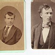 Two Men Donald Trump Hair Do's  Photos