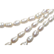 """Baroque Freshwater Potato Pearl Necklace 18"""" Long"""
