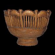 Hand Made NH Hardwood Reticulated Bowl
