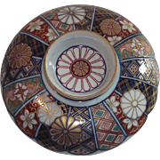 Small Imari Pedestal Plate